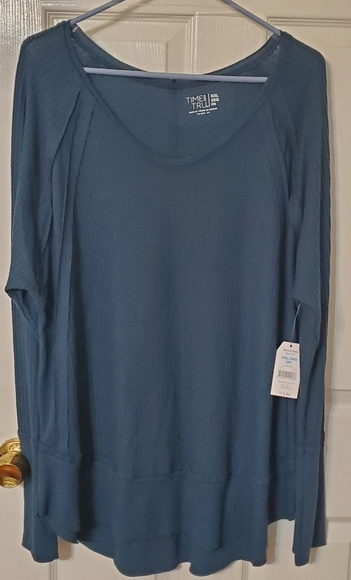 Tops - Teal plus size blouse